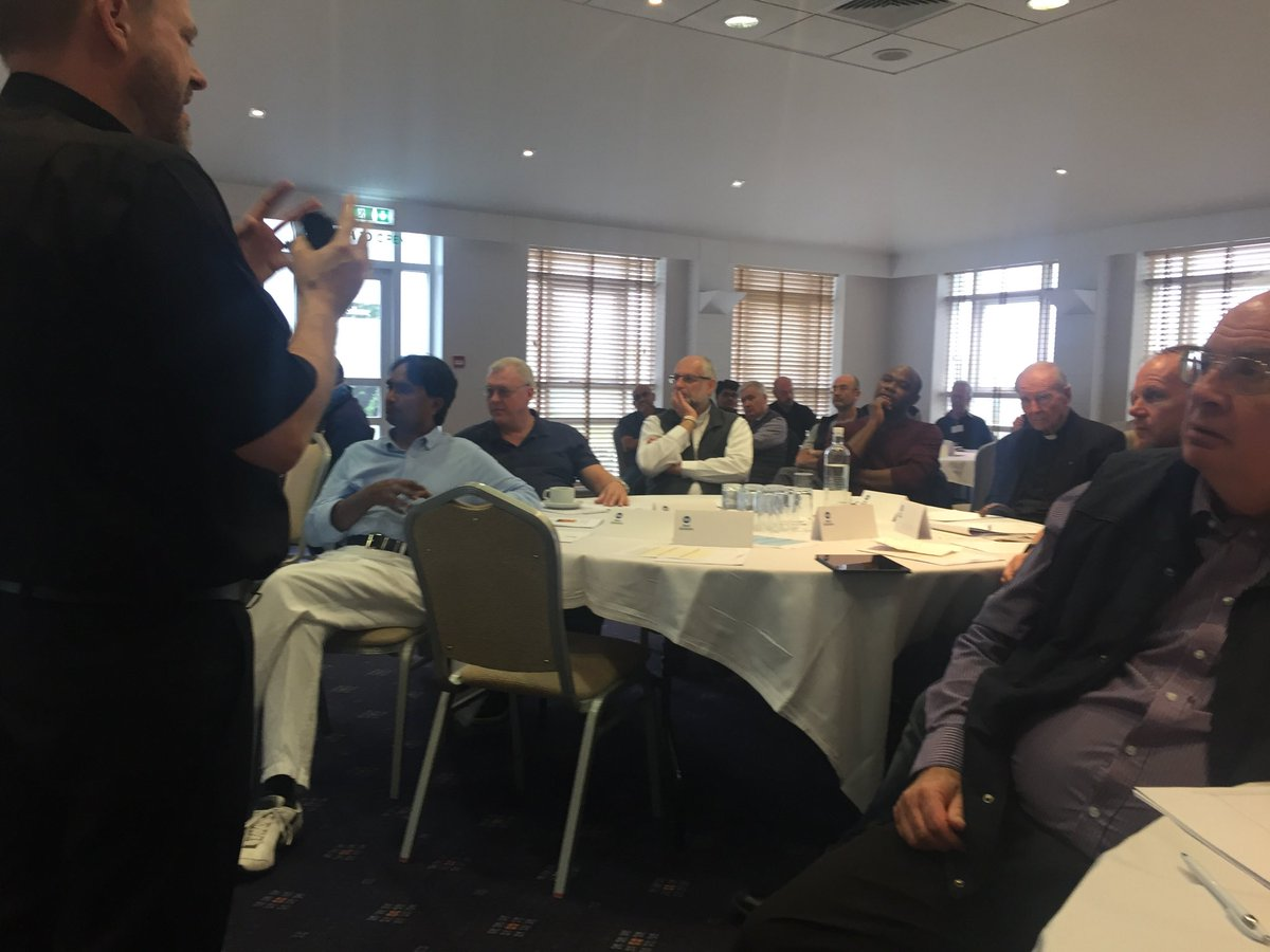 test Twitter Media - Back now from two full days at Chilworth Manor of ongoing clergy formation with Dr Judith Champ (Oscott) and Fr Gerard Fieldhouse Byrne (St Luke's Manchester). Topic was 'Resilience in the Midst of Change' and over 60 clergy attended. It was excellent. Please pray for us all. https://t.co/3RHr9BqqSG