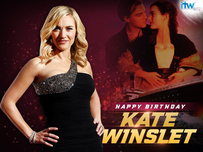 Wishing the legendary actress Kate Winslet a very happy birthday!