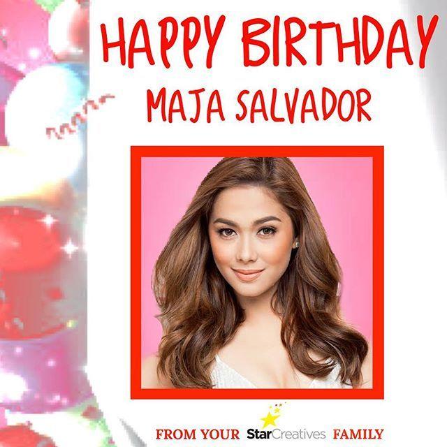 Happy Birthday Maja Salvador from your Star Creatives Family!