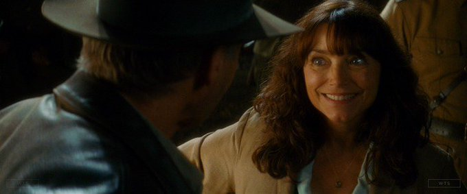 Happy Birthday to Karen Allen who turns 67 today! Name the movie of this shot. 5 min to answer!