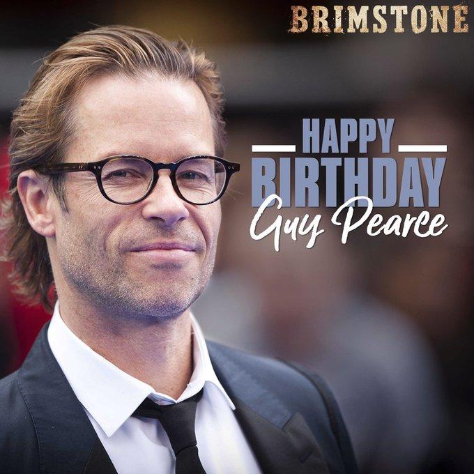 Happy birthday Guy Pearce!