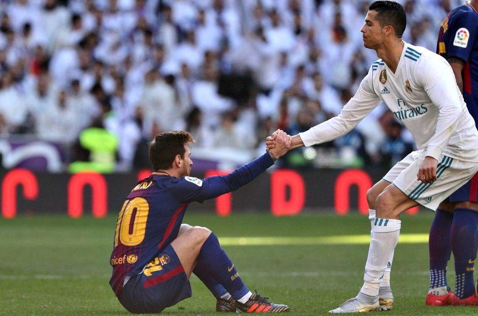 RT @InfosFuteboI: Barcelona x Real Madrid sem Messi e Cristiano Ronaldo. Quem perde é o futebol. https://t.co/RyQfee5bFy