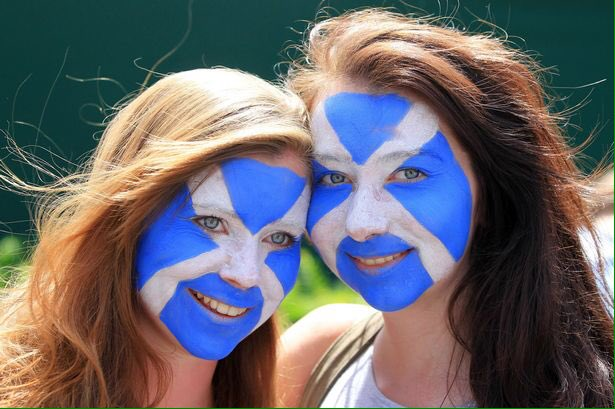 RT @PhilMMcG: At least the Scots Nats didn't need to stump up for new blue face paint today  #PeoplesMarchVote https://t.co/7rr3CoG77k