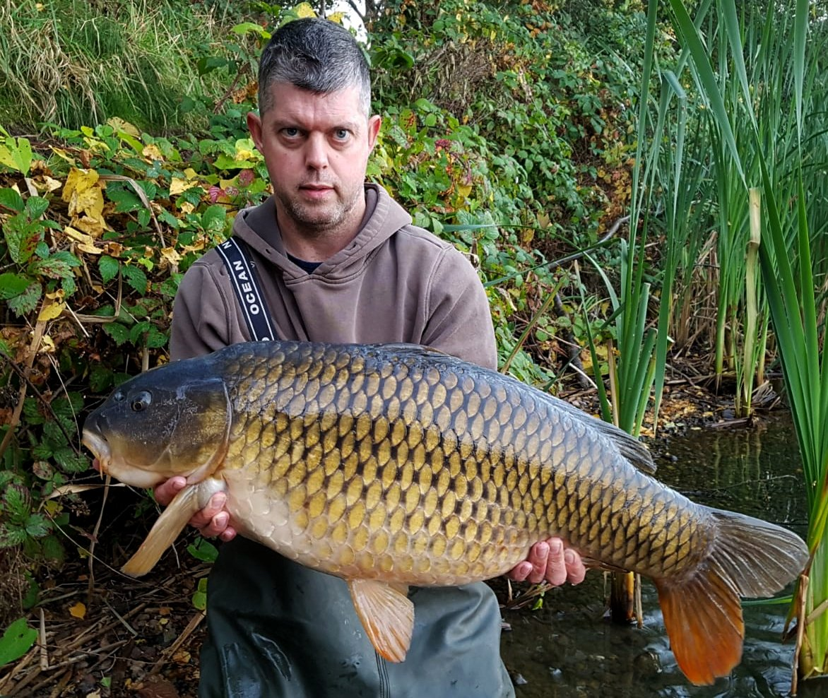 Craig Sharp with a 28lb 4oz common from a Lincolnshire pit <b>Caught</b> using The Core. #corebaits