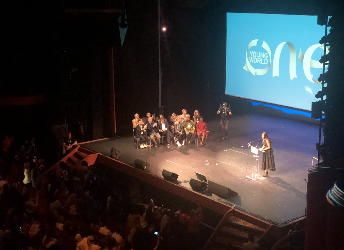 RT @nick_giles: Brilliant to see @NaomiCampbell welcome @oneyoungworld to London next year! #OYW2018 #OYW https://t.co/IiNKqQQuUP