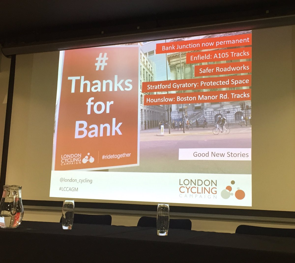 test Twitter Media - Note the shout out for #Enfield in @londoncycling CEO Ashok's speech 😊 @CycleEnfield @EnfieldCouncil #LCCAGM https://t.co/lhvnz00yHV