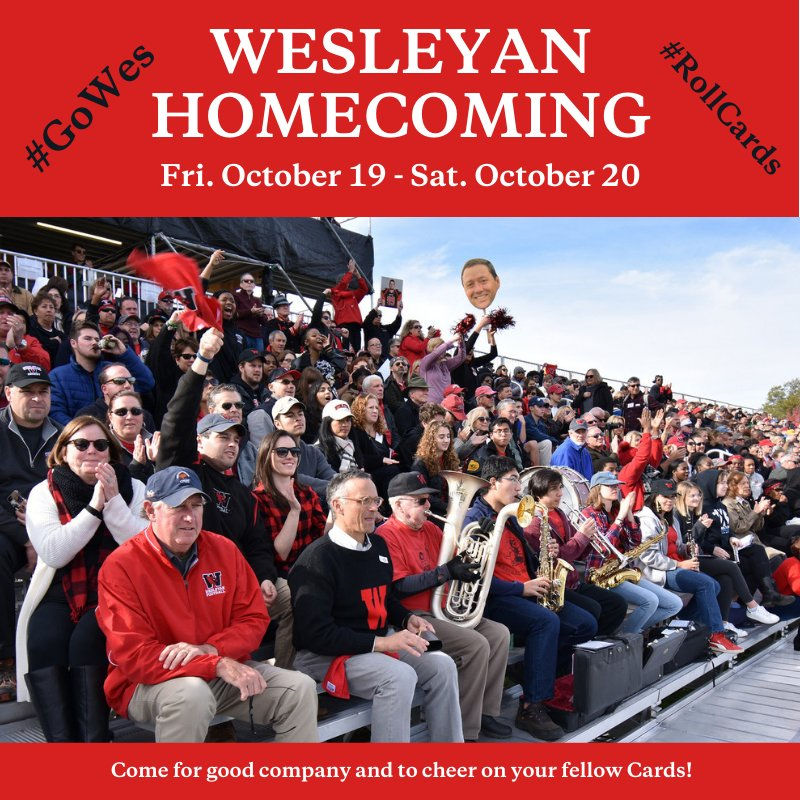 test Twitter Media - Homecoming starts TOMORROW! 🍂 Get pumped to see @Wes_Athletics in action, attend exhibitions and special events, and show off your #CardinalPride! 🔴⚫  Hope to see you here! For more details: https://t.co/PiPGFMUf2E #WesHome https://t.co/9wWddkomdp