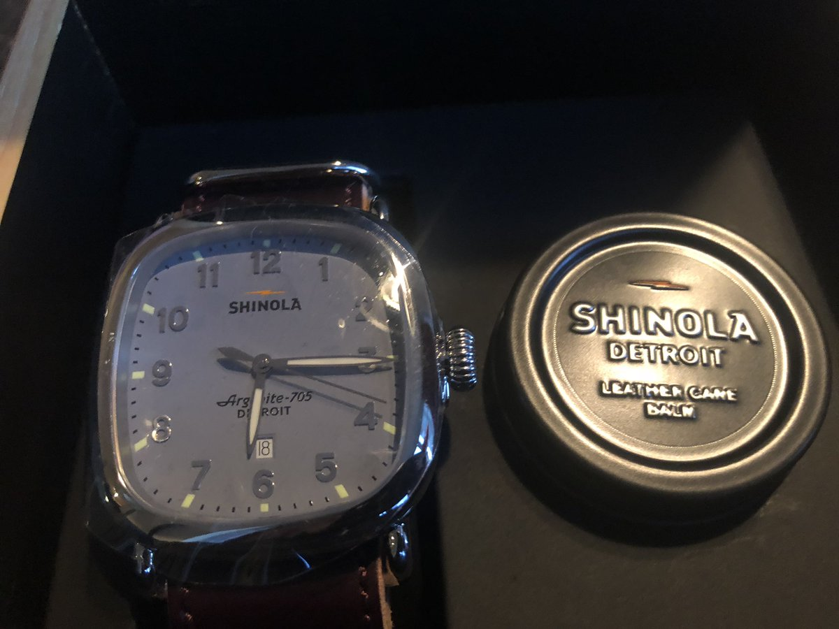 Shinola. Out of Detroit. Know the difference ... https://t.co/MHe38ocu8p