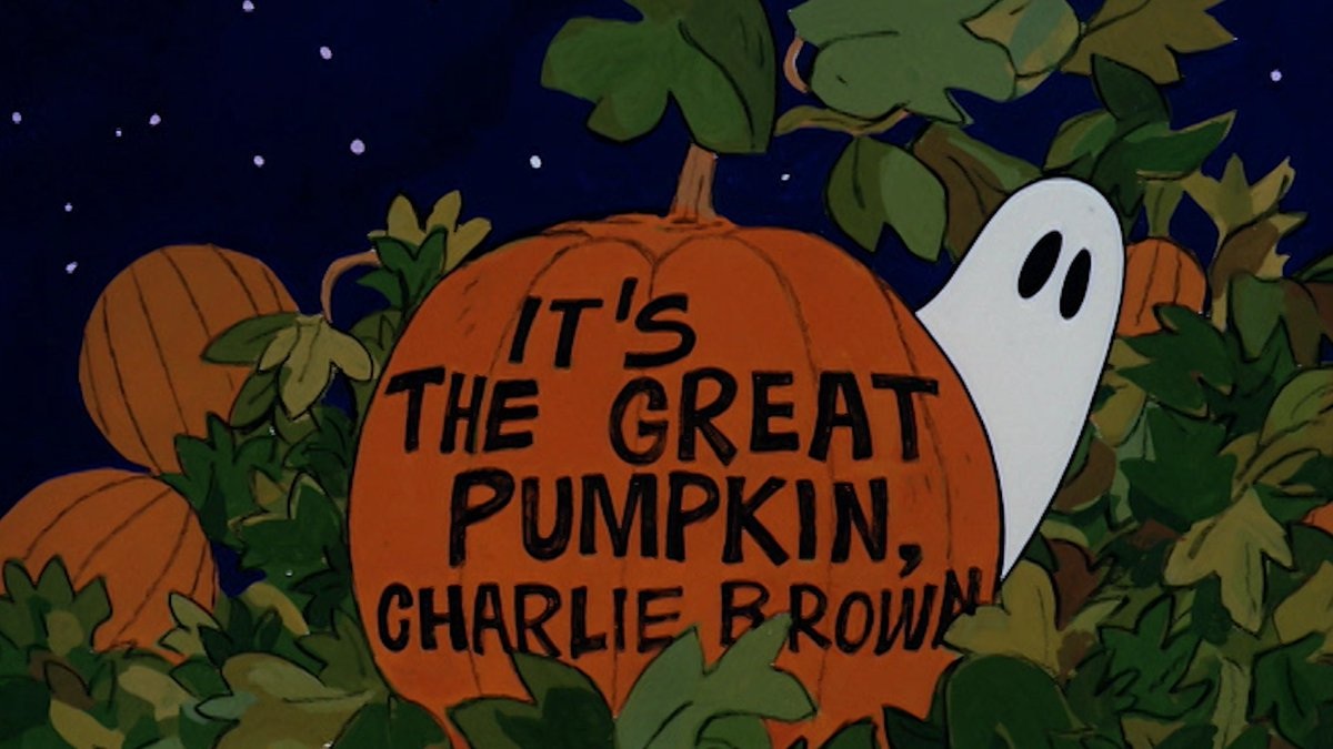 RT @Snoopy: It's the Great Pumpkin, Charlie Brown starts NOW  on ABC! https://t.co/gpDGCeFyDi