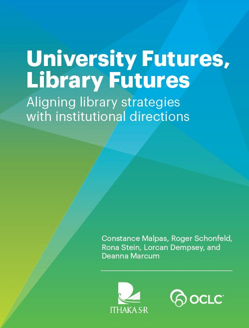 "test Twitter Media - A New Report From @OCLC Research and @IthakaSR ""University Futures, Library Futures: Aligning Library Strategies with Institutional Directions"" https://t.co/Ij0i7A0V9F #libraries https://t.co/P6CAdoo3Bz"