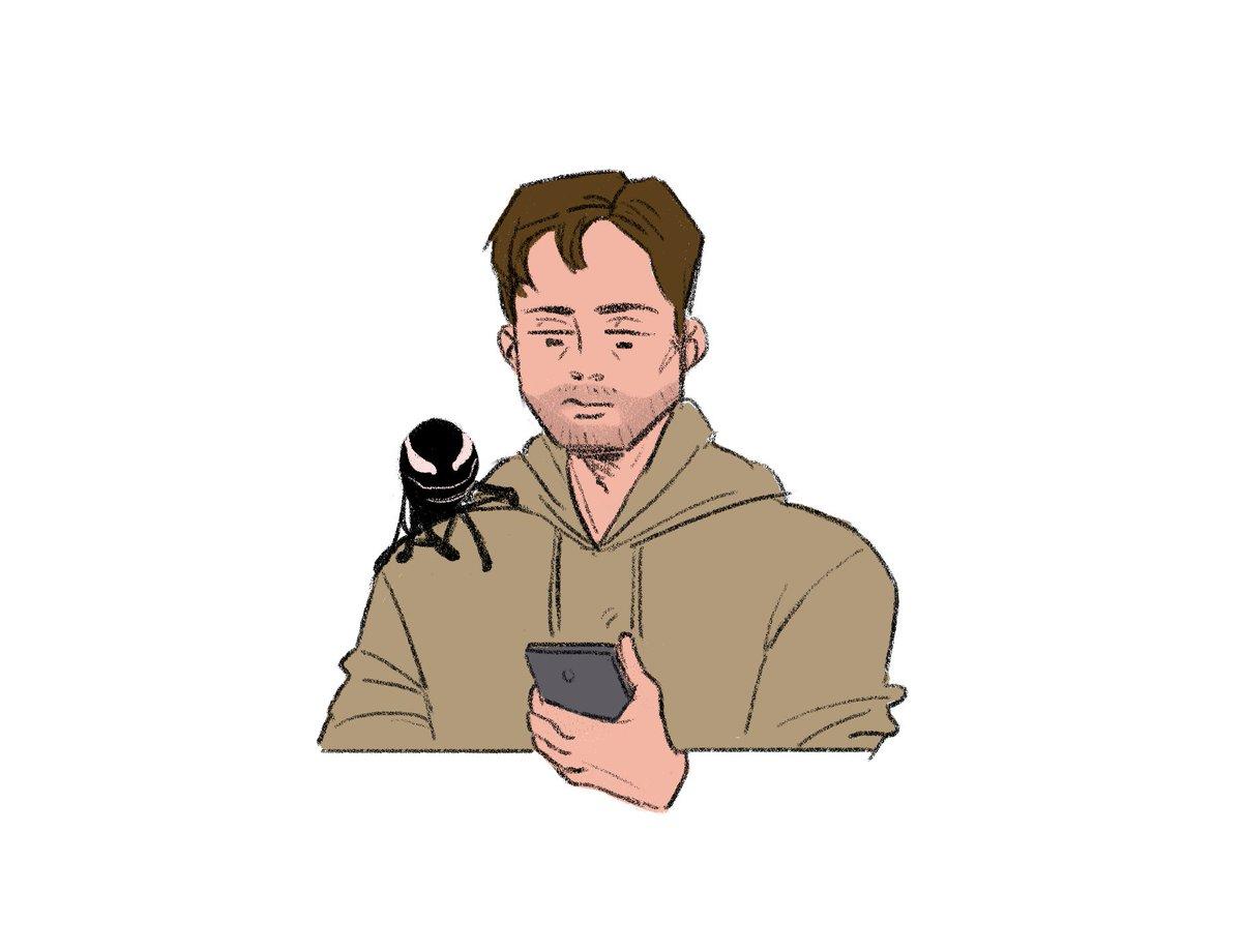 RT @katsugenki: remember to give him a kis #venom https://t.co/y807JgyLRW