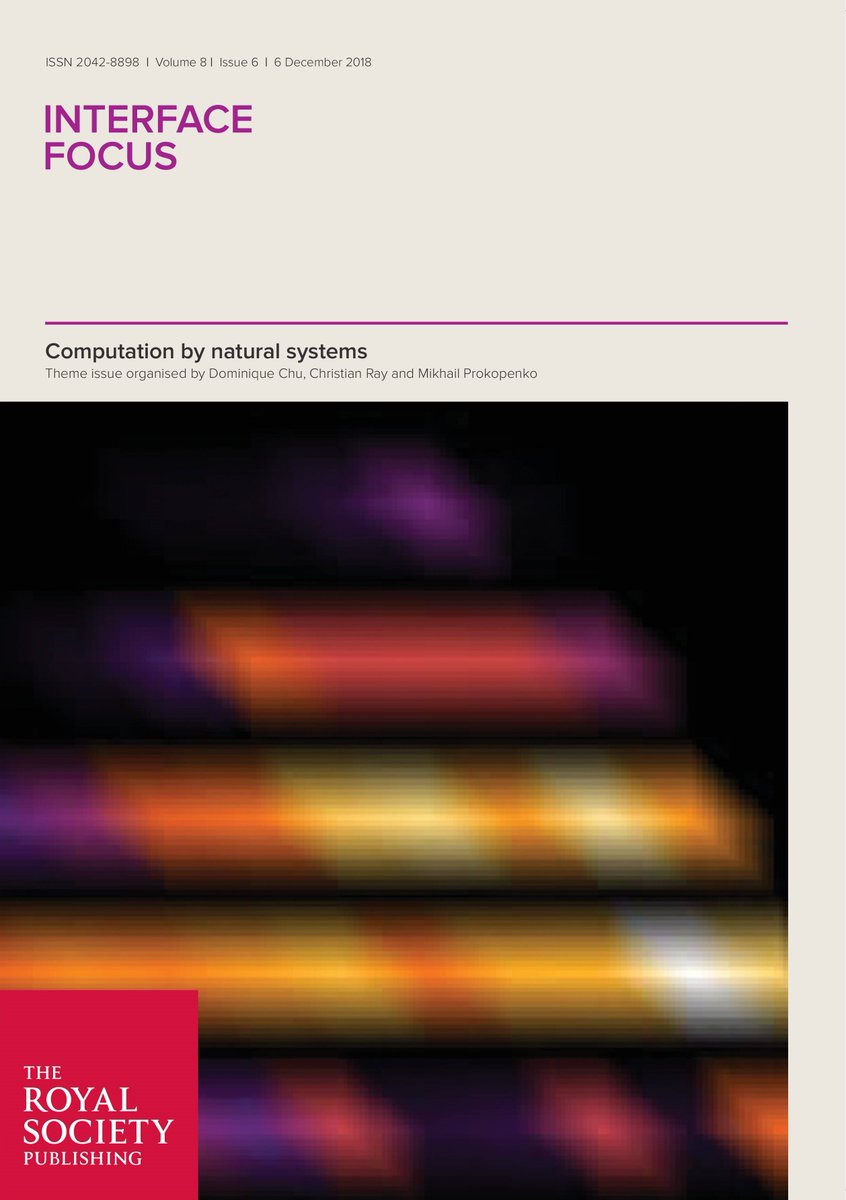 test Twitter Media - Computation by natural systems — Read the new #InterfaceFocus issue here: https://t.co/T0RIwgyOLk https://t.co/wfPaxI87NW