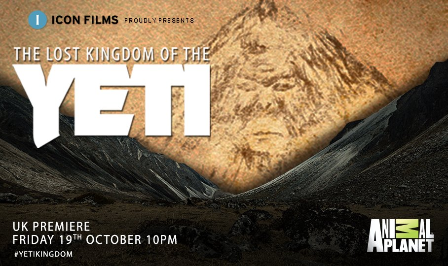 #Tonight Biologist @MarkEvansTV and his expedition crew embark on their latest mission to reveal the truth behind the mystery of the Yeti in the UK #premiere of The Lost Kingdom of the Yeti, 10PM on @animalplanetuk #YetiKingdom #mountaineering #adventure #science #yeti #Himalayas https://t.co/3hmZ2knEbJ