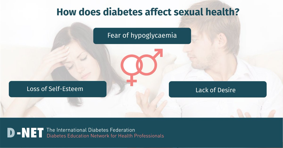 test Twitter Media - #Diabetes can affect sexual health in a variety of ways, including emotional instability and reduced energy. Learn more through our current discussion on #DNET: https://t.co/M8OmRthuN9 https://t.co/uSRw3epN3K