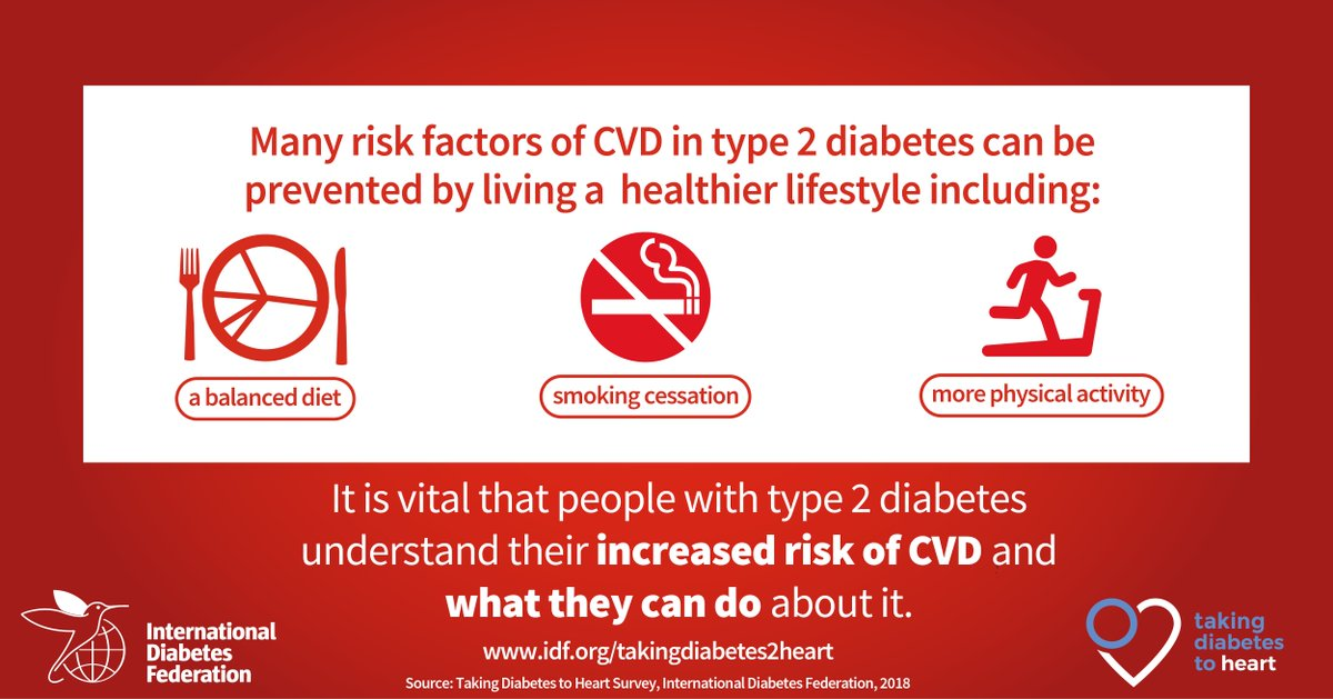 test Twitter Media - People with #diabetes have an increased risk of developing cardiovascular complications. Many risk factors can be prevented by living a healthier lifestyle. Learn more: https://t.co/2NtbGfsy6r https://t.co/ie2jE3zh2f