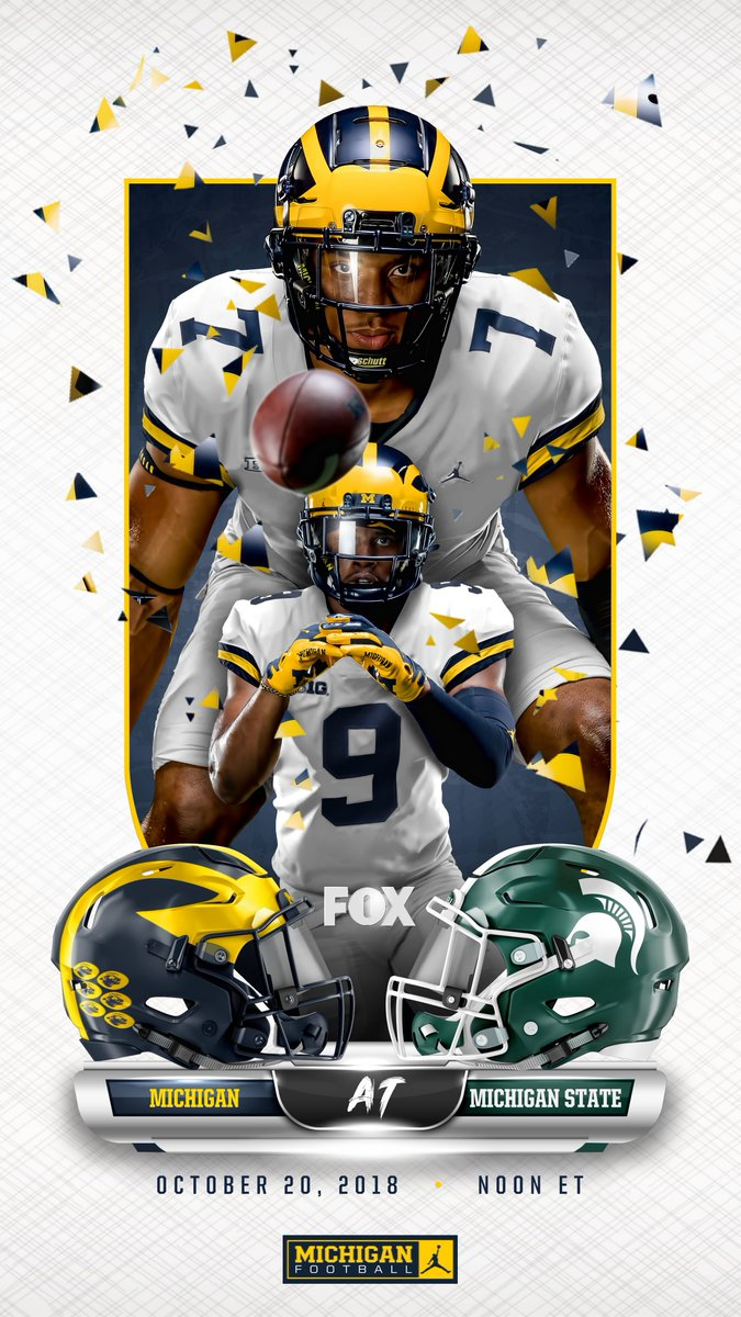 Get hyped.   It all goes down tomorrow.   #GoBlue   #BeatState https://t.co/vVaogbvqD1