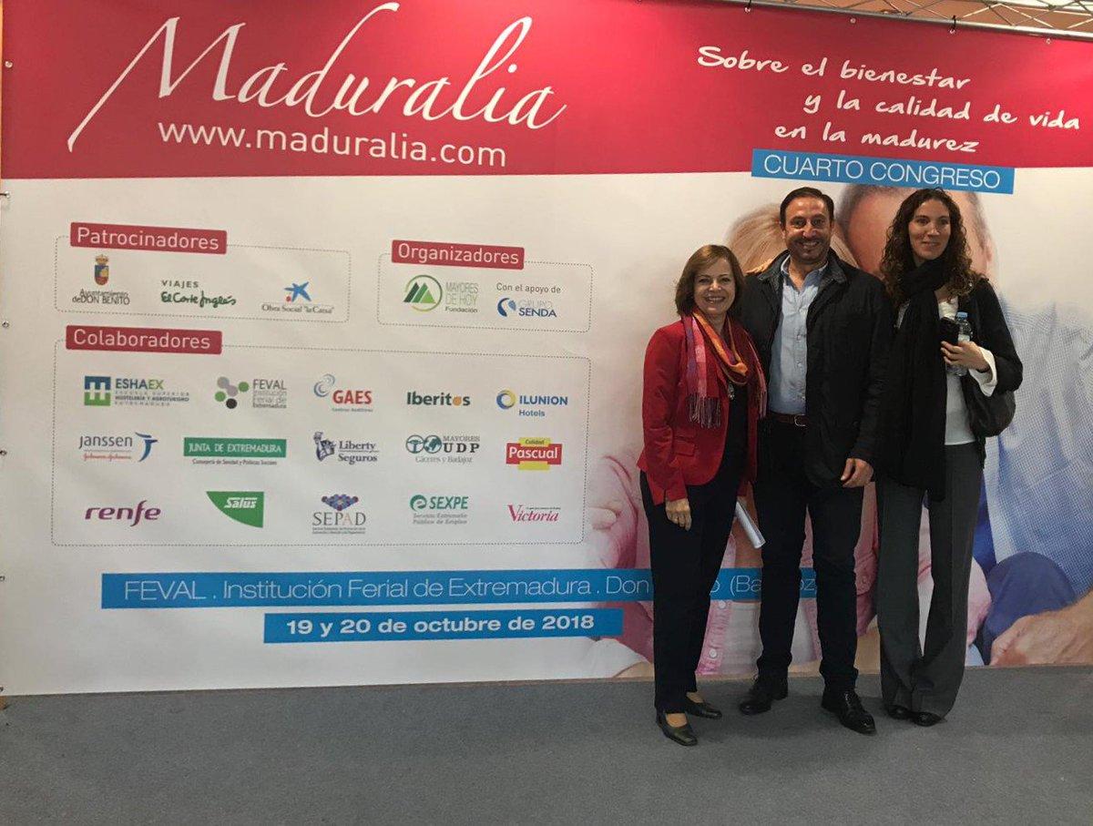 test Twitter Media - Cerramos la jornada de hoy en #Maduralia2018. ¡Muchas gracias a @MatildePelegri y al Consejero de sanidad y Políticas Sociales de #Extremadura. @jvergelesb https://t.co/1A7hXqsSox