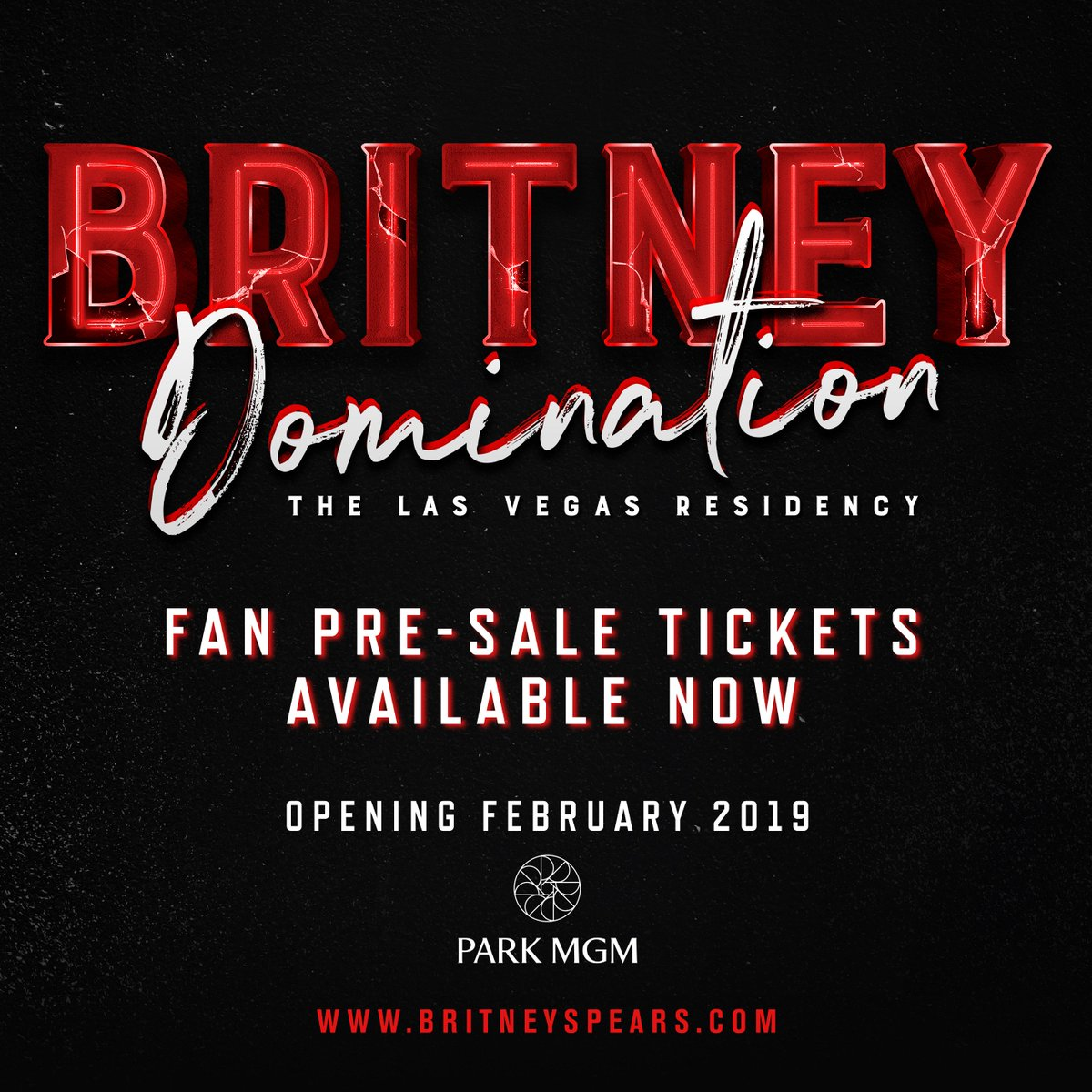 The #BritneyDomination fan pre-sale is going on right now!! ????❤️???? https://t.co/KYA36RI9Zh https://t.co/KQnJICvAOW