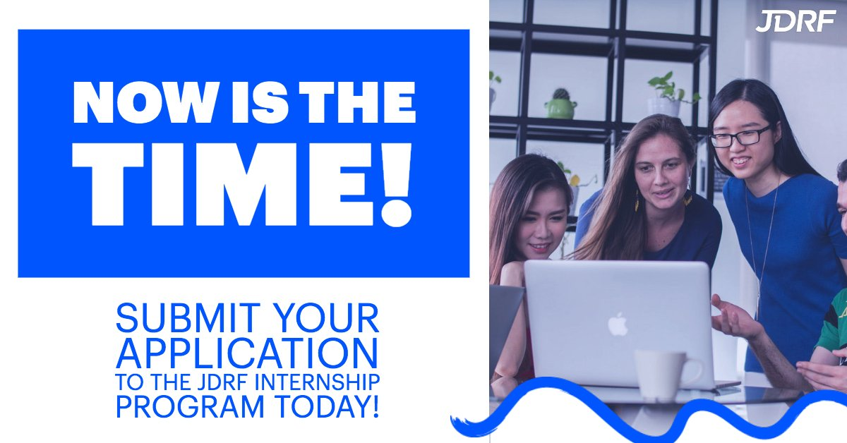 test Twitter Media - Are you an undergraduate or graduate student living with type 1 #diabetes (#T1D) and on the hunt for an #internship with a company that works within the T1D space? Visit the link below to learn more about JDRF's Young Adult internship program! https://t.co/kCAAkLkggI https://t.co/ffoO356a80