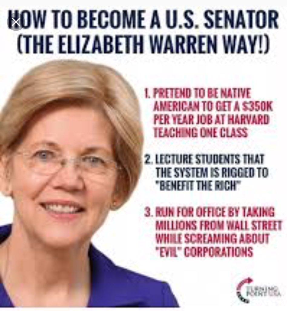 RT @bobby990r_1: @SenWarren Start by example & APOLOGIZE to #CherokeeNation & USA for playing system! https://t.co/b0sSy5T1OO