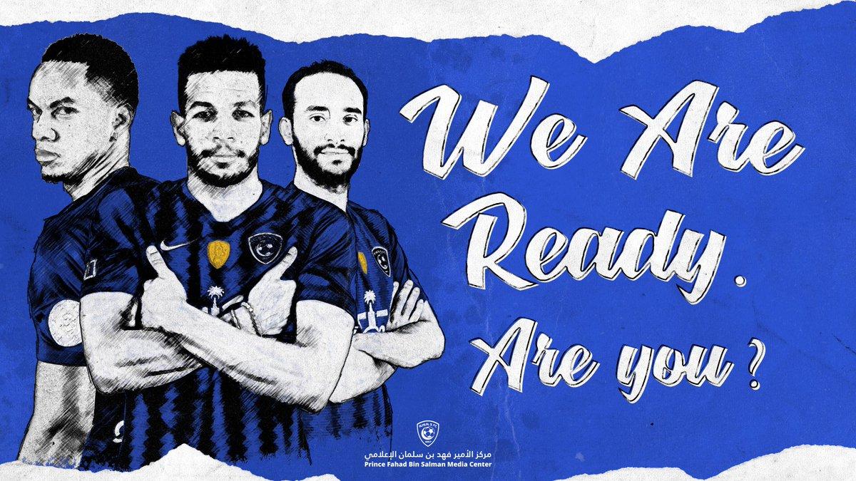 RT @Alhilal_FC: نجومنا جاهزين..  وأنتم..؟   #الشباب_الهلال #الهلال https://t.co/4IYZiQTqrp