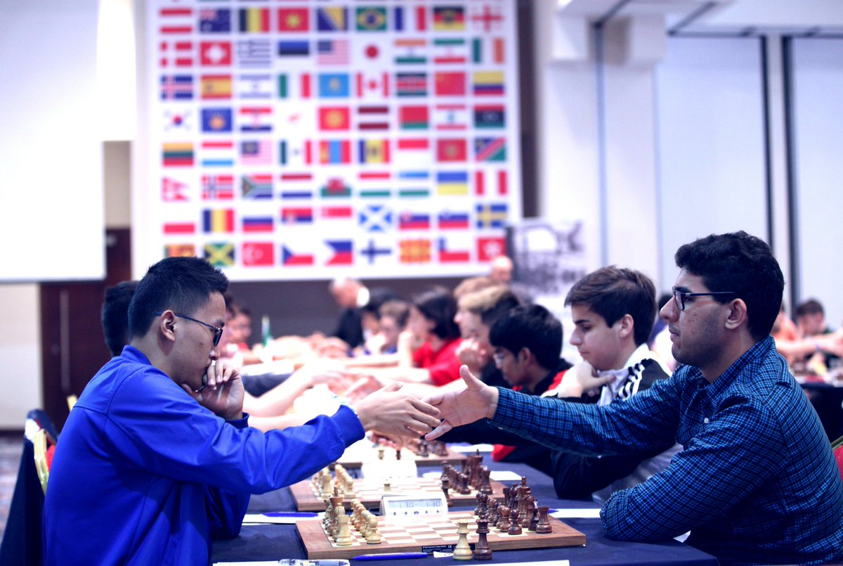 test Twitter Media - World Youth Chess Championships started in Porto Carras, Greece. 626 players from 78 countries take part in all tournaments. Official website: https://t.co/71p0zDvN2Z  #WYCC2018 #chessingreece Photos by @NastiaKarlovich https://t.co/CrKXTTnzST