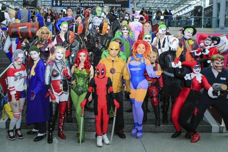 See the best cosplayers from NYCC: