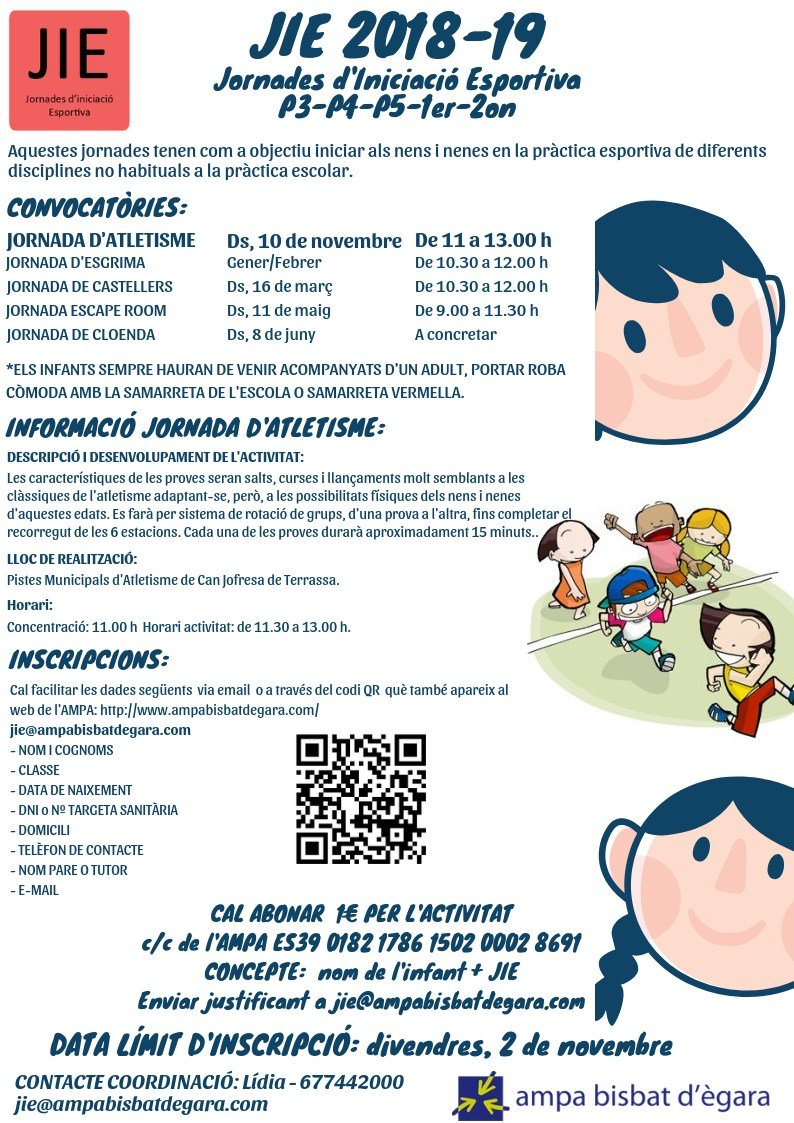 test Twitter Media - JIES 2018-2019. JORNADA D'ATLETISME https://t.co/QG9R3cFTgA https://t.co/jO11sum4Tt