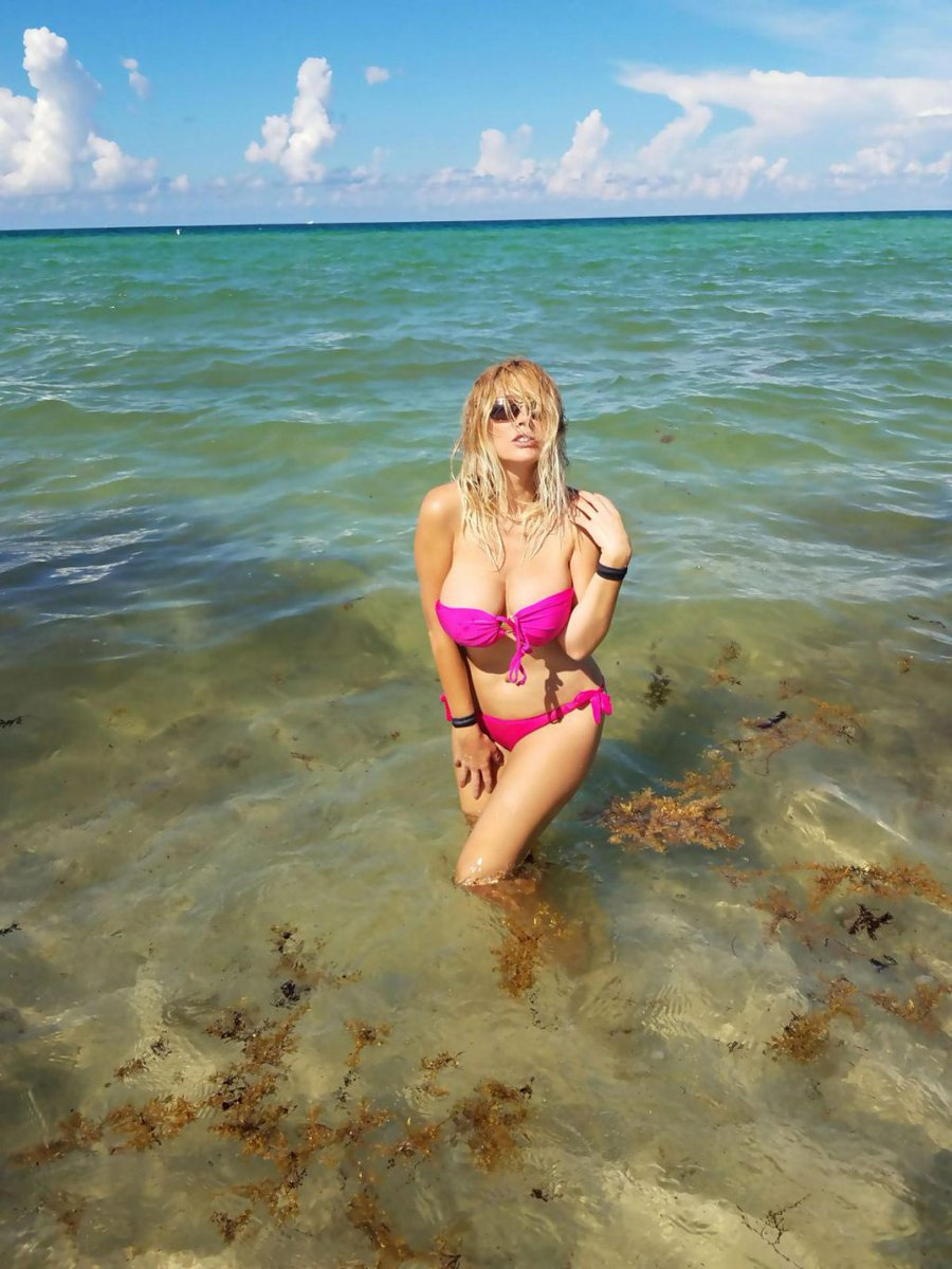 RT @celebskart: Nadeea Volianova in Bikini on the Beach in Miami 2018/10/07 https://t.co/bW8mdRGsC6 https://t.co/Utv8D7BkoT
