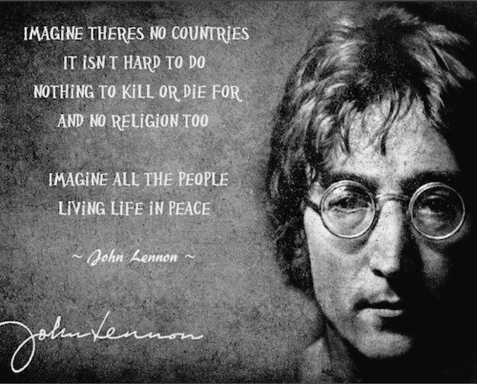 Happy birthday John Lennon (1940 - 1980)