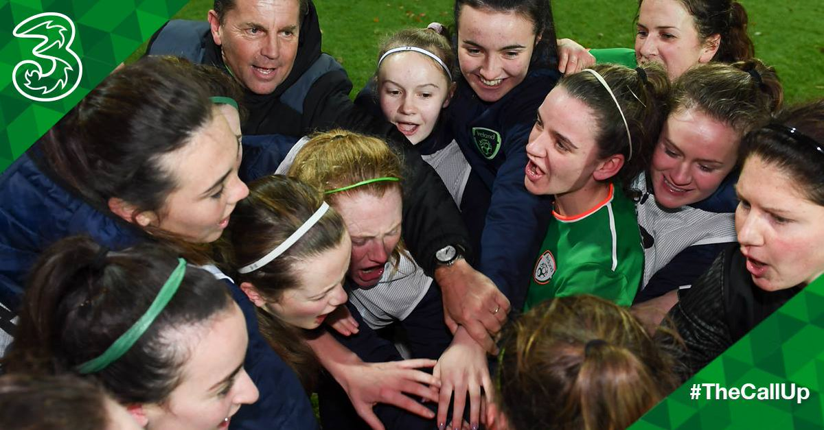 Best of luck to the #IRLWNT answering #TheCallUp today v Poland 🇮🇪🇵🇱 Come On You Girls In Green! 💪💚 https://t.co/1UZY6U11IL