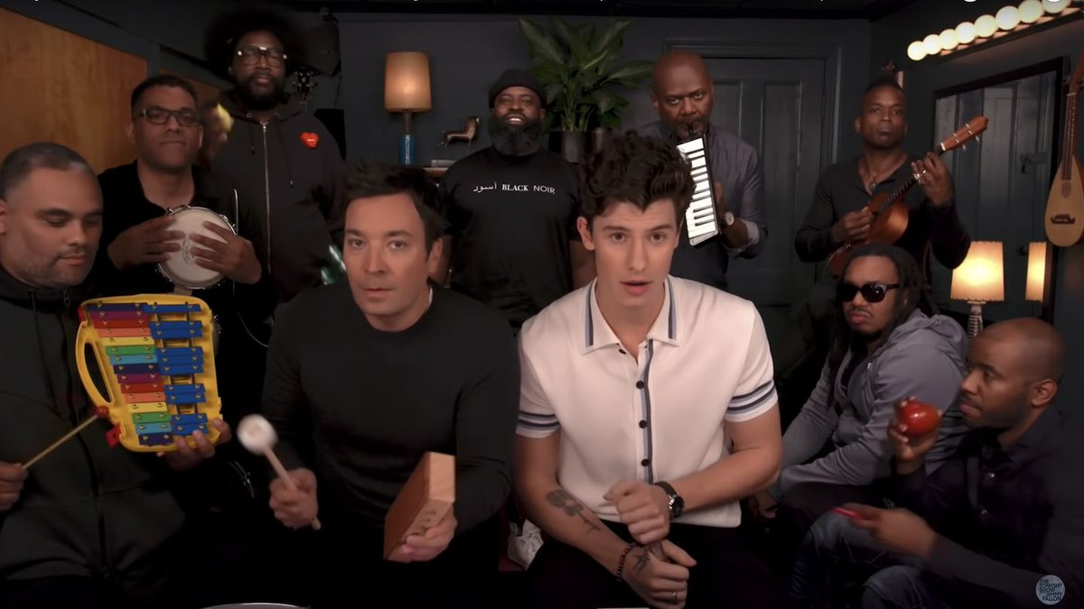 Watch Shawn Mendes Inject Some Whimsy Into 'Treat You Better' With Jimmy Fallon
