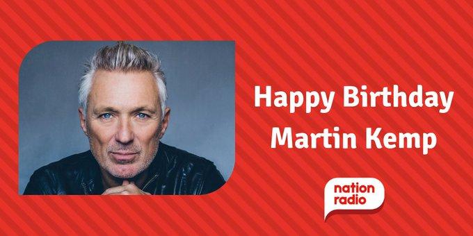 Happy Birthday Spandau Ballet s Martin Kemp, he s 57 today!