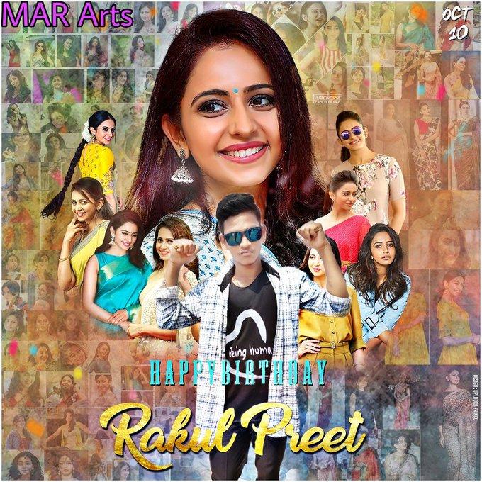 Happy birthday to Rakul Preet Singh die heart fan