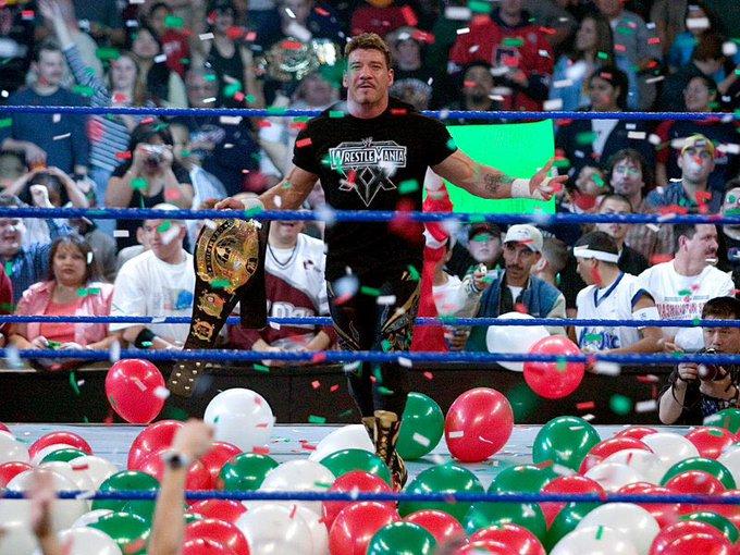 Happy Birthday Eddie Guerrero miss you Latino Heat