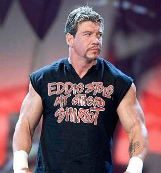 A huge happy birthday to my inspiration for ever wanting to be a wrestler! Eddie Guerrero, you were the greatest!