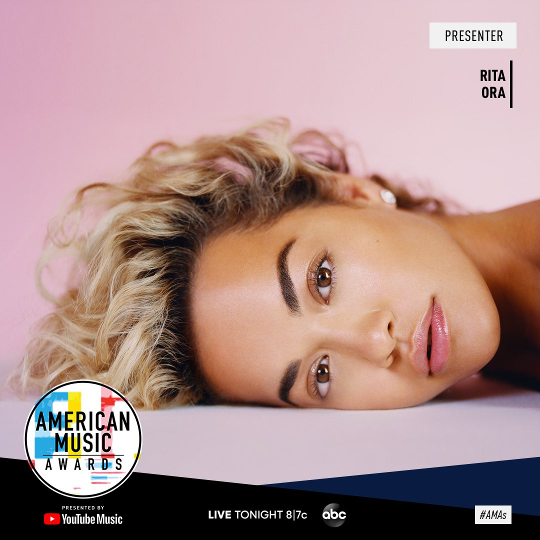 See you at the @AMAs soon!! Tune in tonight at 8/7c on ABC!! https://t.co/UEbMtkUOjI