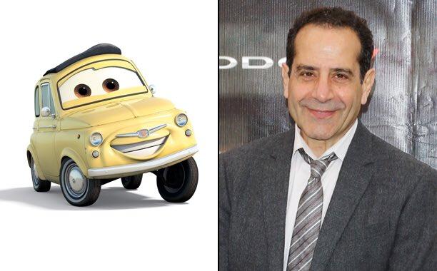 Happy 65th Birthday to Tony Shalhoub! The voice of Luigi in the Cars franchise.