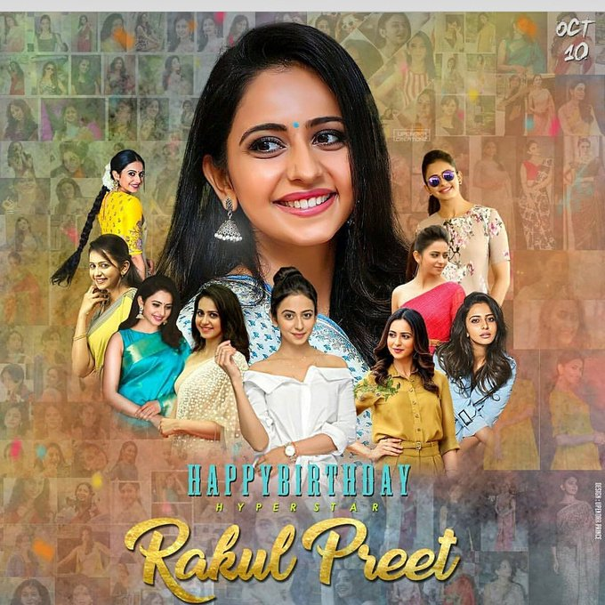 Happy birthday rakul preet Singh