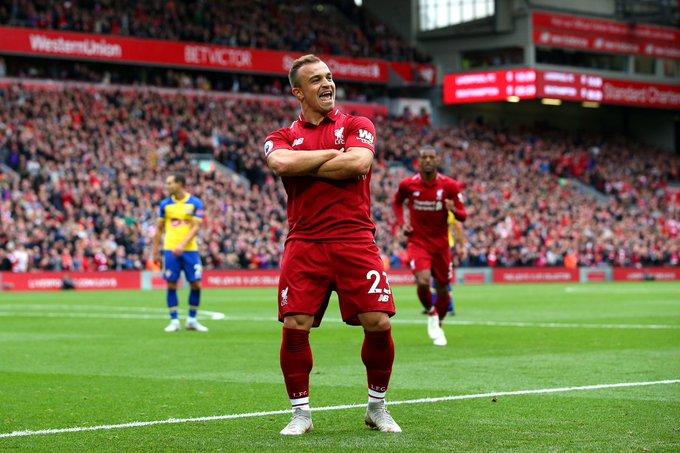Liverpool hero Xherdan Shaqiri turns 2 7 today! Wish him a happy birthday!