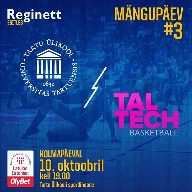test Twitter Media - Täna on taas #MÄNGUPÄEV! Järjekorras kolmas. -- Today is GAMEDAY! #unitartubasket #tartuülikool #basketball https://t.co/1BwprX0evQ https://t.co/ROWsJ7HI2X