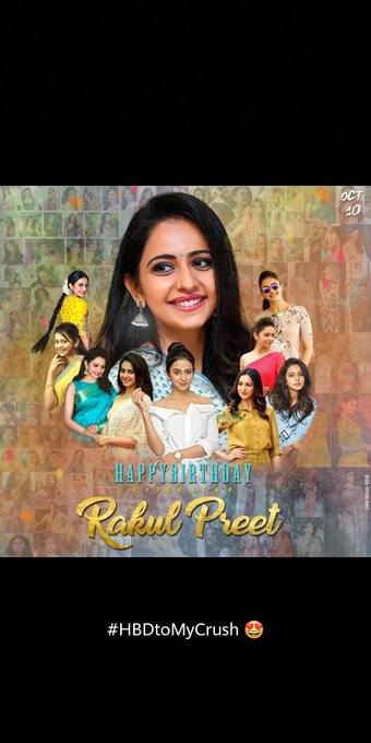 Happy birthday my fav actress Rakul Preet Singh