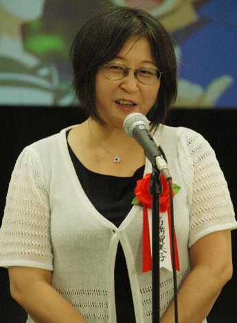 Happy Birthday. Dear Ms. Rumiko Takahashi. She is a great Japanese manga artist.