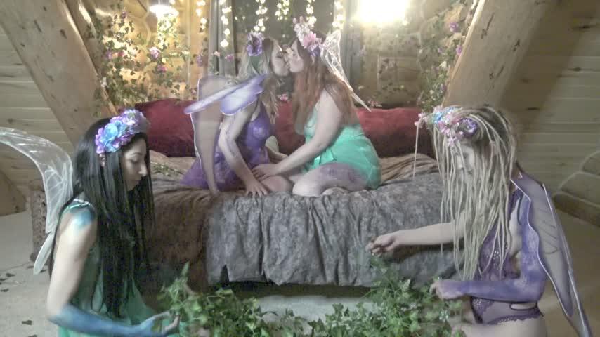 Sensual Fairy Daisy Chain Group Sex by CamGirlDollHouse eGLStzOypR Find it on #ManyVids