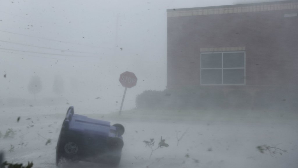 'Catching some hell', Hurricane Michael slams into Florida