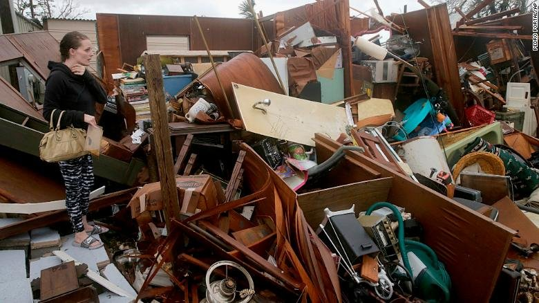 In pictures: Hurricane Michael strikes the Florida Panhandle