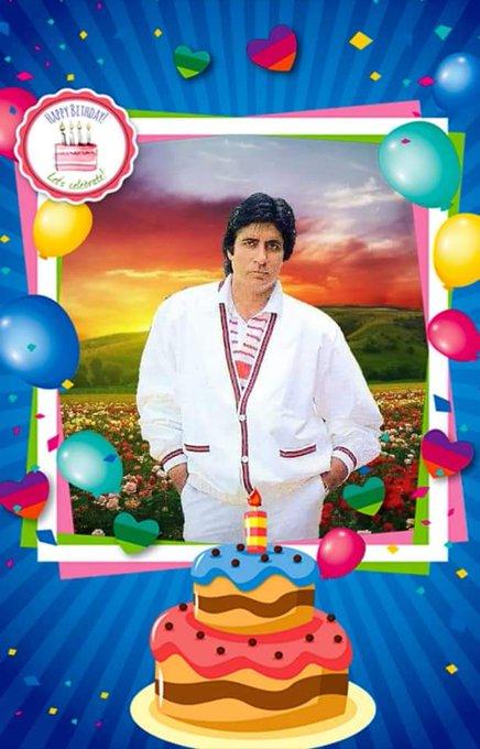 Happy birthday to amitabh bachchan sir  star of the world