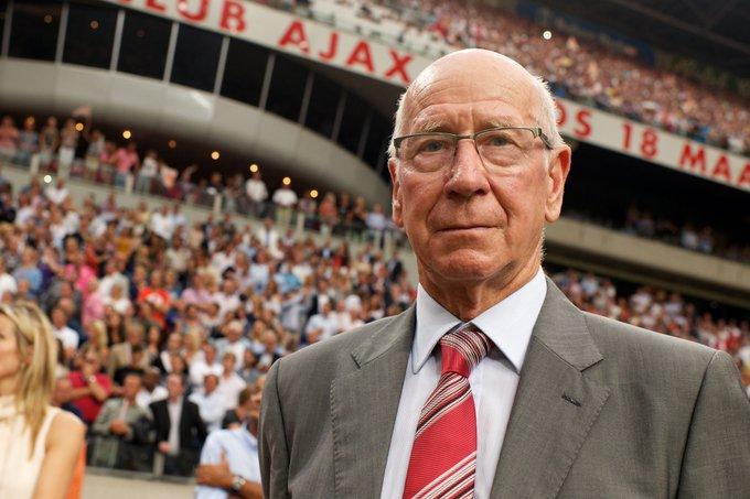 758 games 249 goals  Happy birthday to Manchester United legend, Sir Bobby Charlton.