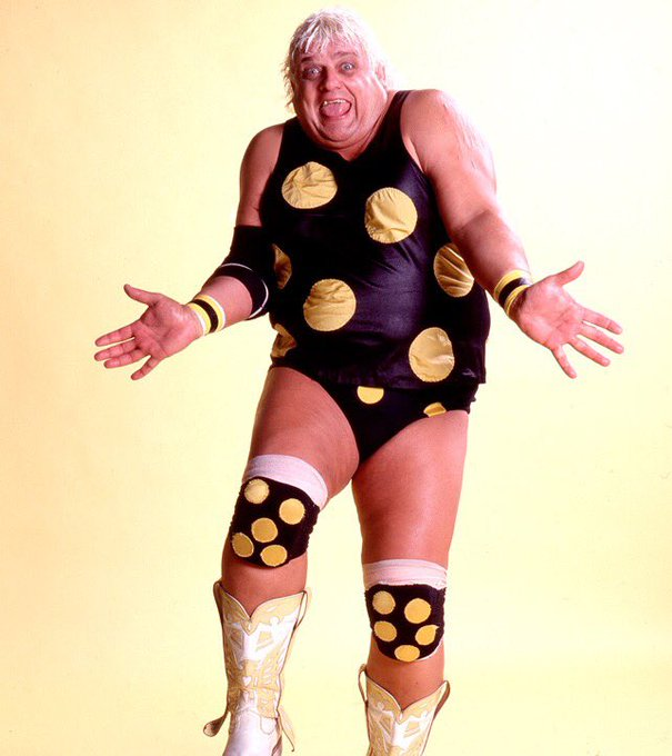 "Happy Birthday in Heaven today to ""The American Dream\"" Dusty Rhodes"