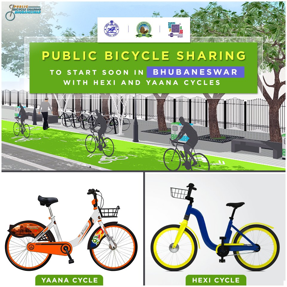 test Twitter Media - Public bicycle sharing #PBS to start very soon in #Bhubaneswar. The bicycles will be robust in built, structure & smooth for riding. The cycles will also be digitally mapped based on GPS locations & will provide #MobileApp based services to users to locate and use a bicycle. https://t.co/ABx8D5vkPb